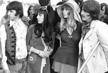 Ringo... George and their wives ♥