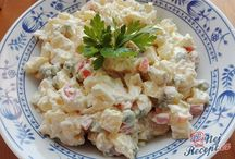 Salads - Šaláty