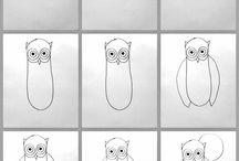 Hur man ritar saker