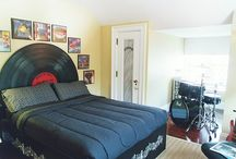 A Bed For Some Crazy Rock Fans!