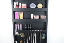 Makeup and jewelry organizers / Organizers for both of your makeup and jewelry stuff!