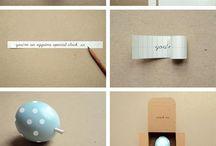 Douce attention / idées de jolis cadeaux originaux à offrir***