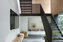 trapp og rekkverk