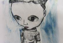 Deborah French - art / My own artwork.