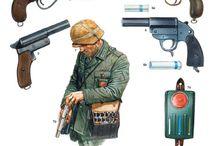 Soldier + armes/stuff