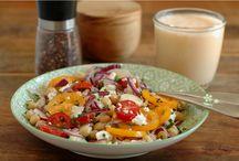 Recette salade et health food