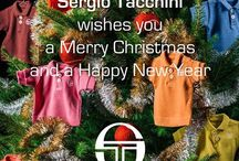 Christmas / #SergioTacchini wishes you a #MerryChristmas and a #happynewyear