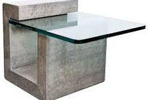 Concreto/Cimento/Resina/Madeira