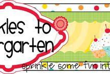kindergarten baby! / by Tiffany Wall