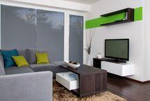 Realizace interiéru bytu 2+kk v Brně - Komíně / Investor se na nás obrátil se záměrem navrhnout a zrealizovat interiér bytu 2+kk v novostavbě bytového domu v Brně.