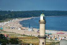 Warnemünde / Das Ostseebad Warnemünde ist ein Ortsteil im Norden der Hansestadt Rostock in Mecklenburg-Vorpommern.