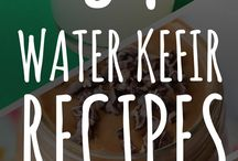 Water Kefir Recipes / Recipes for water kefir which is also called tibicos. Flavoring your water kefir is fun and easy!