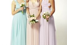 Two Birds / One dress, over 30 ways to wrap for the wedding day… and forever after. Every bridesmaid's dream dress.