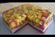 torta frutta April con Agra agar