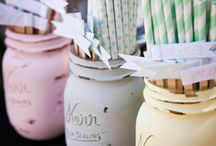 Ljuva Pasteller / Pastel / Tema pastell för fest och dekoration