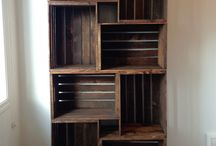 Crate Shelves