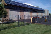 Árnyékolástechnika / Energiahatékonysági szempontból előnyösen alkalmazhatóak esztétikus árnyékoló elemként a panelek.