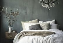 Grey and white rooms