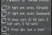 Toned arm workouts