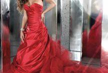 Abito rosso / Abiti da sposa