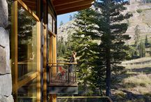 Away from it all: Mountain lodges and lake houses / by Rebecca Hunt