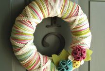 wreath ideas / by Jennifer McAliley