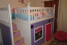 bunkbeds and forts / by Pam Gorski
