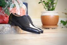 Cap Toe Dress Shoes / Cap-toe oxfords and bluchers in all their classic glory.