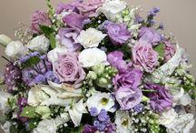 decoração floral mesa