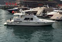 Dyna 53 Used Boat / Price: HK$1,480,000 Built In1992 / Taiwan Length Overall 16m Maximum Beam4.72m Main enginesDetroit Max. Motor Power2 x 550hp  http://www.asia-boating.com/boats-yachts-hong-kong/dyna-53/