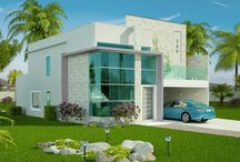 Architecture: Plantas de Casas