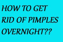 Pimples get rid of