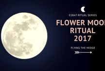 Esbats / Full moon rituals, correspondences, images, and more.