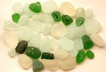 Buy it now - SEA GLASS / Sea glass, beach pottery, naturally-weathered stone, brick, tile pieces, etc. Great for jewelry, mosaics, arts & crafts projects, home & garden.