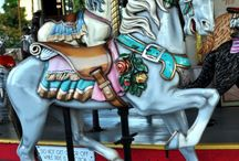 Horses: Carousels / Horses Fantasy Woodworking