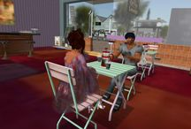 Second Life virtual world