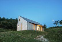 stodola, domek na wsi