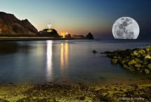 Slunce, měsíc