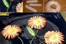 korv blomma frukost