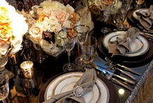 Entertaining / Tablescapes and entertaining ideas