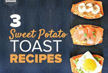 Sweetpotato Toast Awesomeness / All things sweetpotato toast (or sweet potato toast...depending on how you spell it)