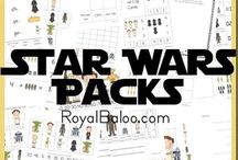 Star Wars printables / children wanted to learn more regarding star wars
