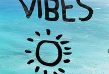 Good vibes only and good feel
