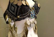 Assiut ~ Assuit ~ Belly Dance Costumes / Here's an inspiration board for folks who are interested in seeing how many designers approach making a belly dance costumes out of assiut ~ assuit ~ tulle bi telli -- no matter how you spell it - it's my favorite textile!