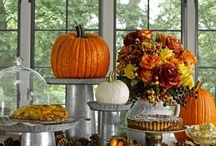Fall decorating and eats