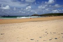 Best Cornish Beaches / The best of Cornwall's beaches, from Polzeath and Daymer Bay, to Lusty Glaze and Porthchapel.