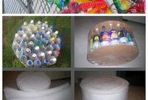 nützliches aus Plastikflaschen herstellen