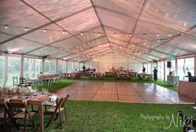 Tented Wedding Receptions