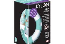 DYLON-Su Yeşili-Aqua Green-Fabric Dye With Salt