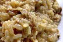 piatti a base di riso